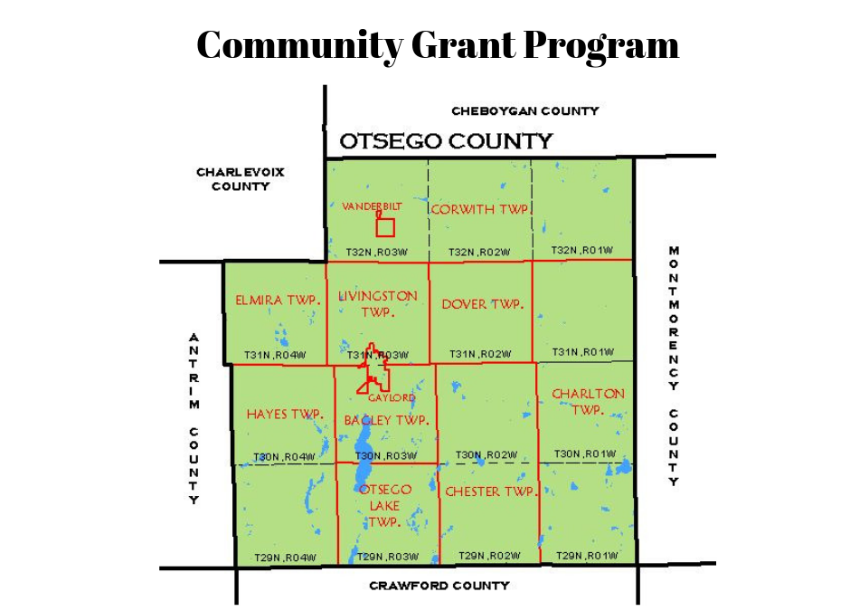 Community Grant Program is Now Open