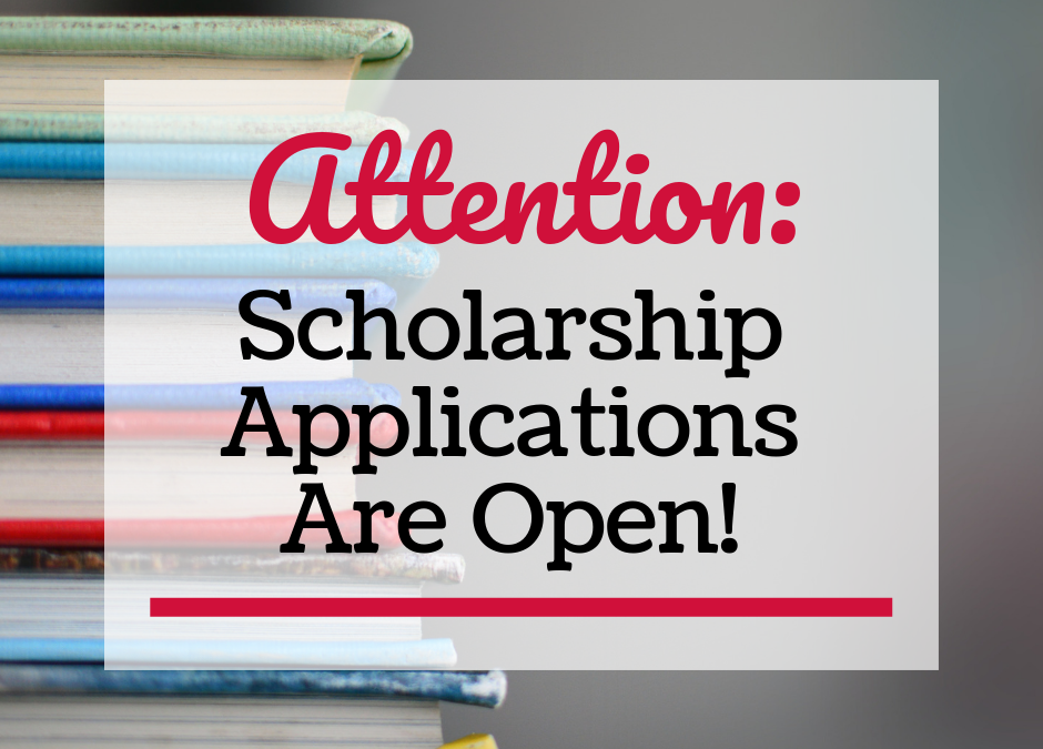 Scholarship Applications Now Open