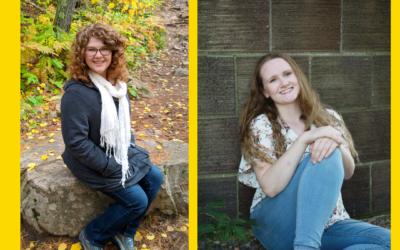 Celebrating Youth Advisory Graduating Seniors: Hannah Johnston and Sara Daugherty