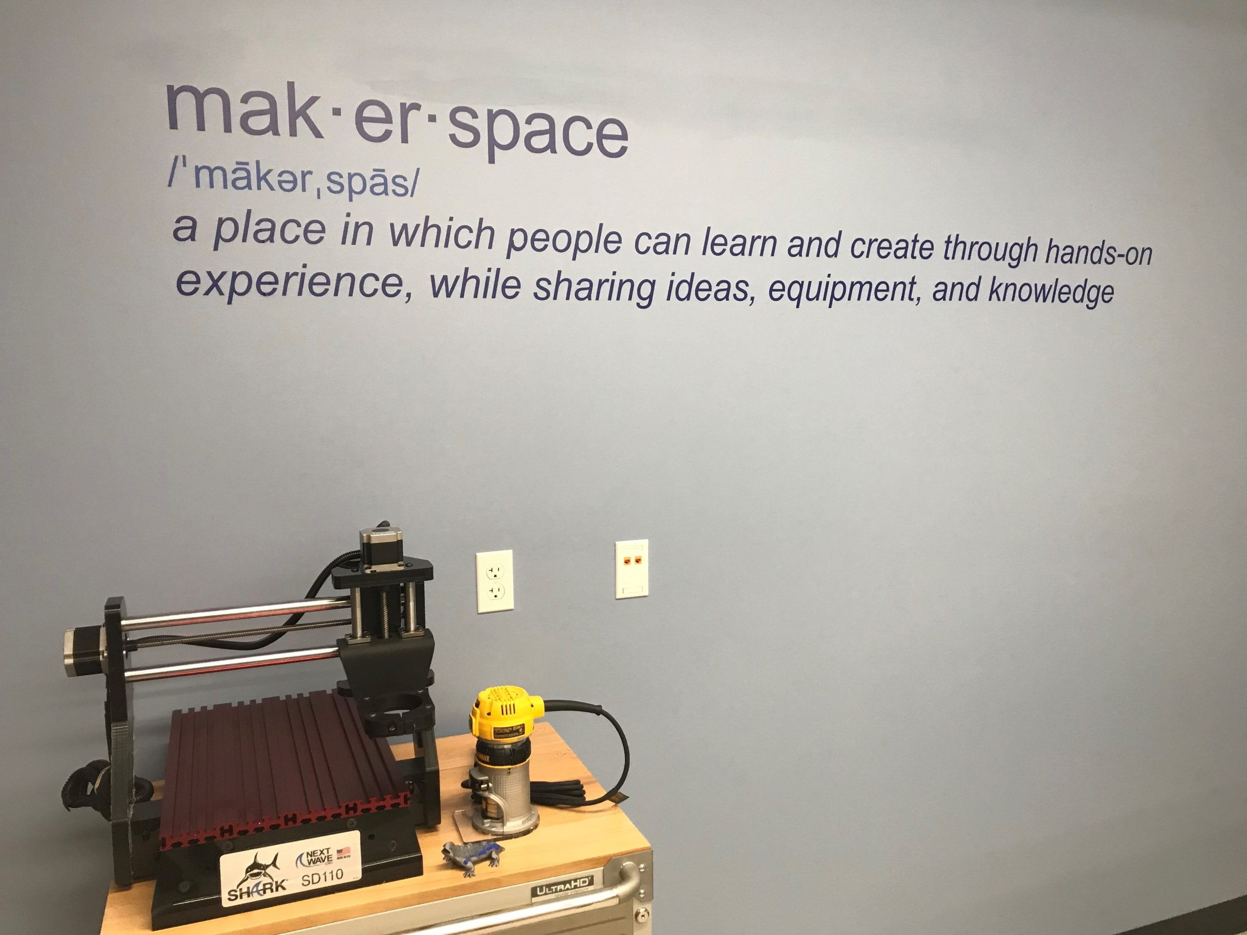 Donor Advised Funds Come Together to Fund Makerspace