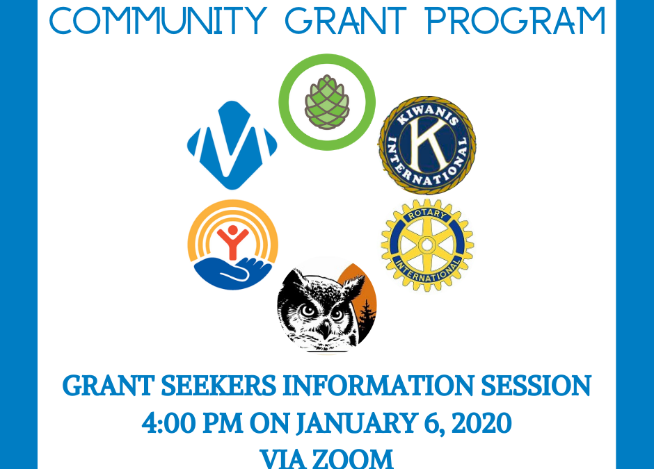 Grant Makers Information Session via Zoom