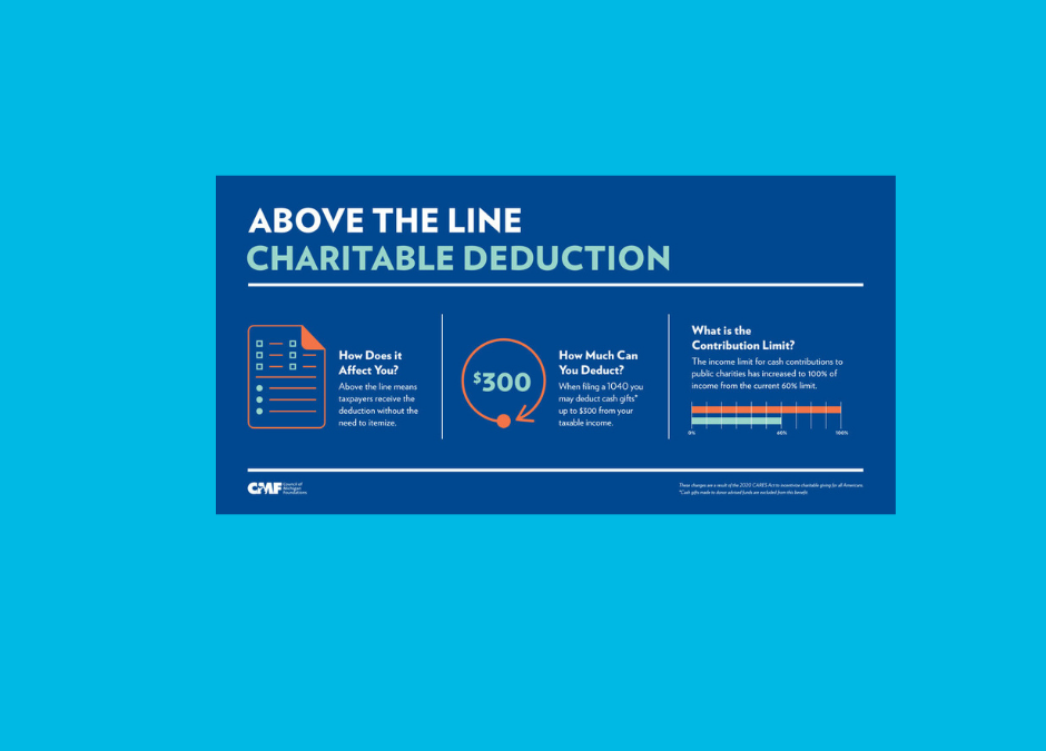 Charitable Giving Under the CARES Act